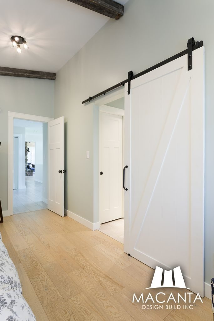 Barn Door Winnipeg Home Renovation