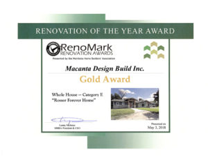 Renovation of the Year Award - Macanta - Whole House
